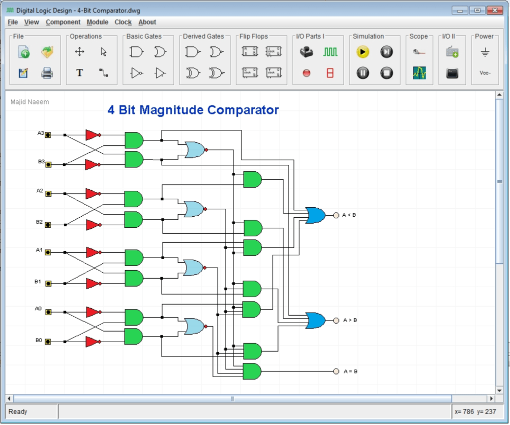Digital Logic Design Download Picture Of The Circuit