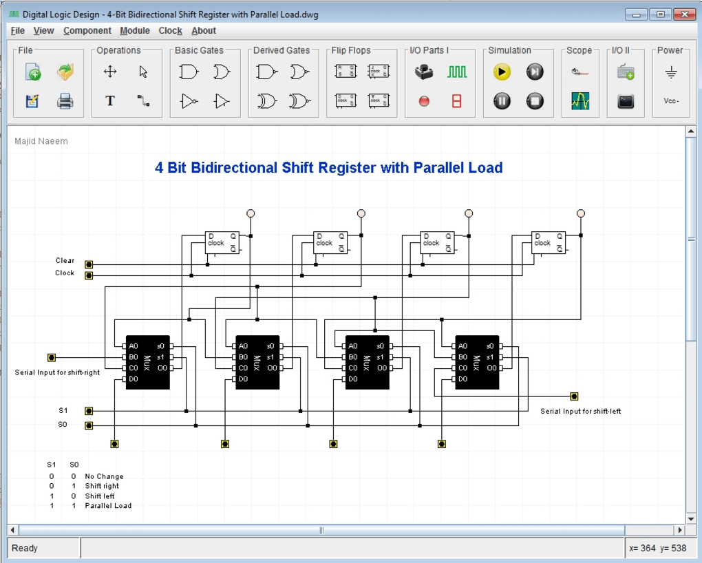 Digital Logic Design Download Circuit And Simulation Free Electronics Software