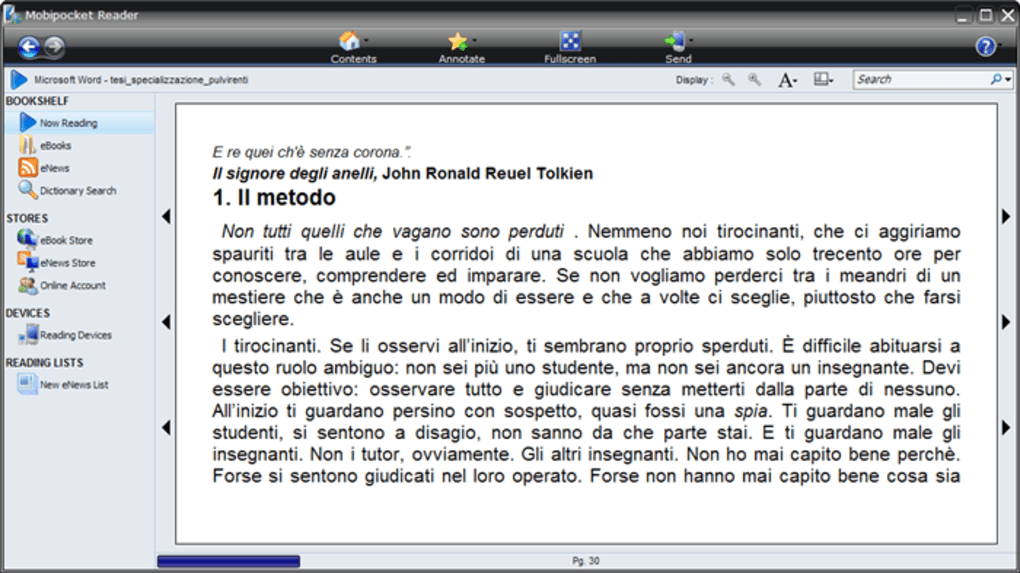 mobipocket reader mac