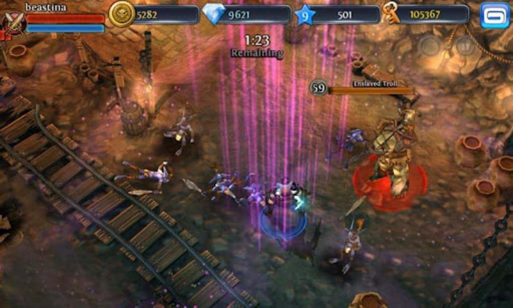 symbian dungeon hunter 3