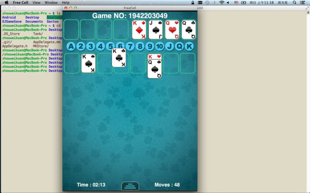 FreeCell - Card Game for Mac - Download