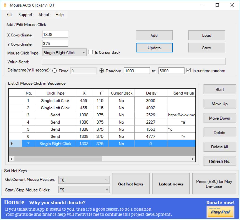 Auto clicker 1 0 download