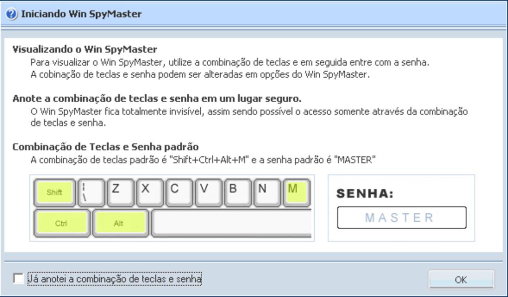 codigo de ativao do win spymaster 2012