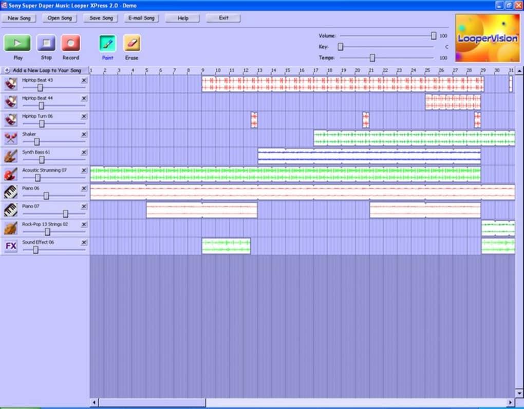 Sony Super Duper Music Looper XPress - Download