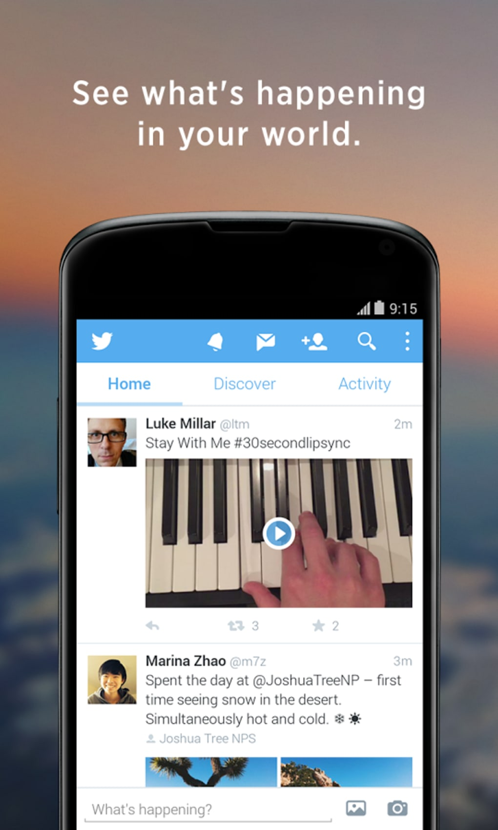 Twitter para Android - Download