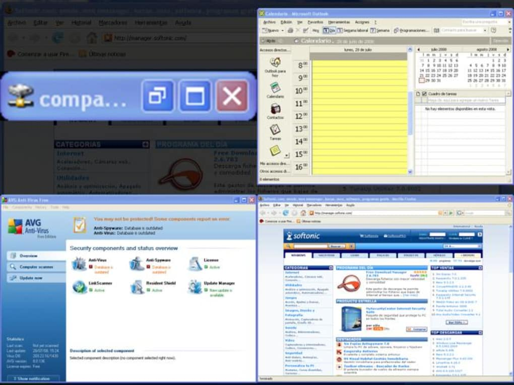 vista xp virtual desktop manager 0.9.1