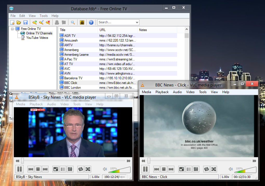 free online tv software download full version
