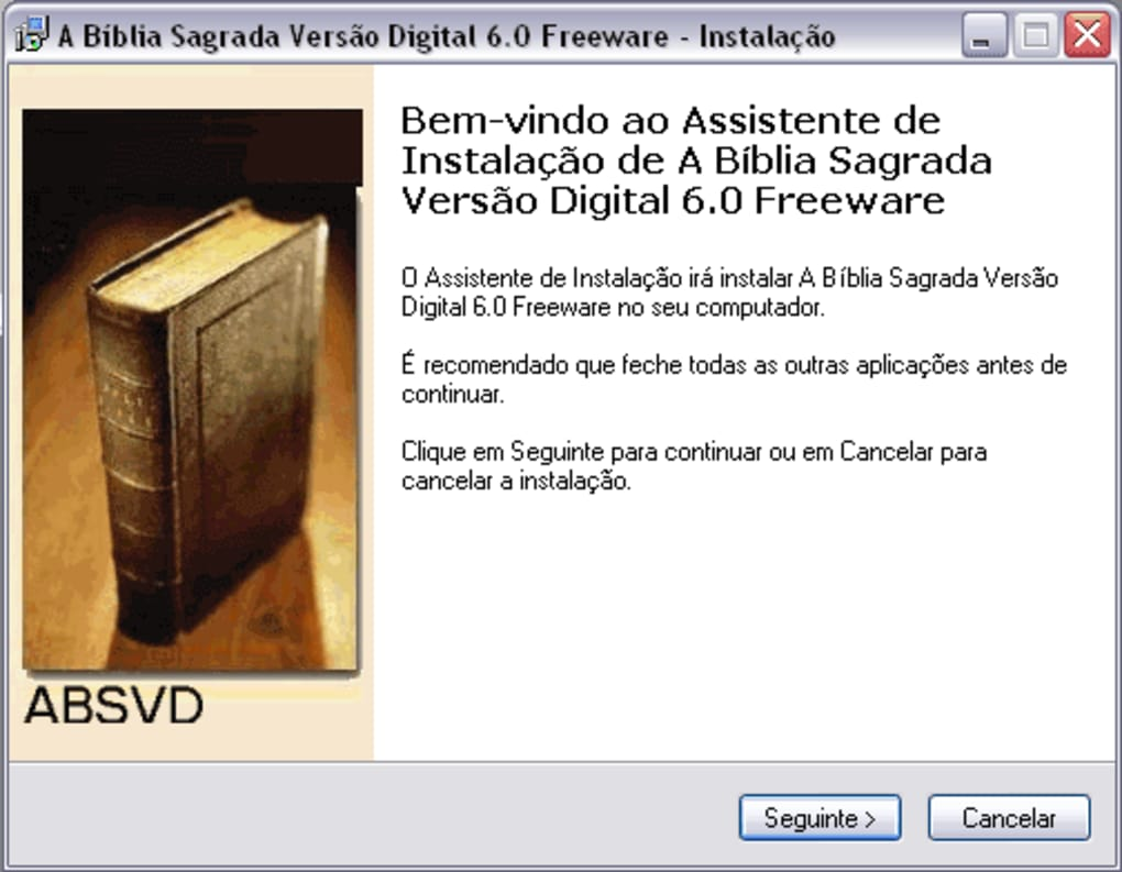 A Bíblia Sagrada Versão Digital - Download
