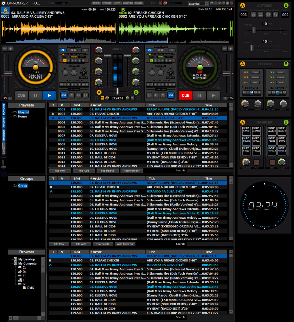 DJ ProMixer Free Home Edition - Download