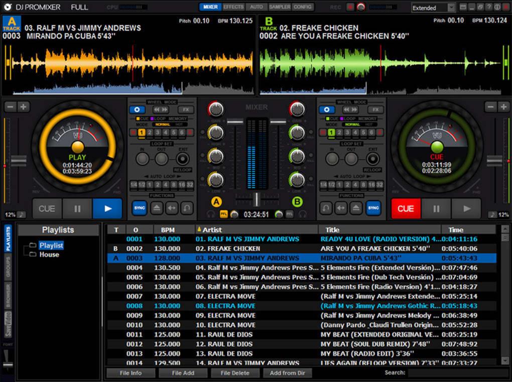 Dj mixer for free | Virtual DJ Mixer Pro  2019-05-16