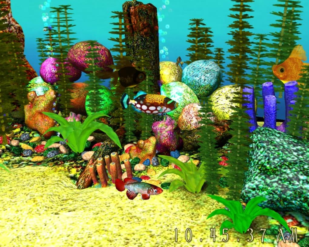 3d fish tank screensaver free download full version