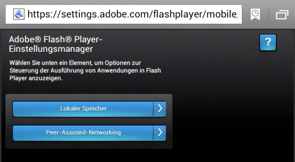 adobe flash player android kostenlos