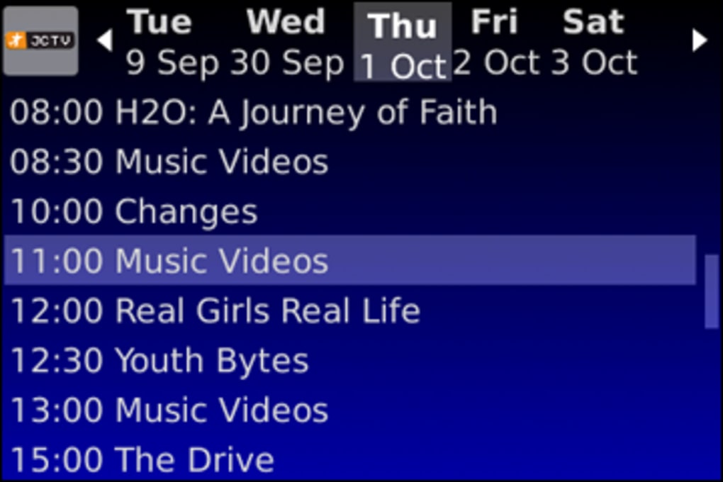 Spb tv for blackberry download.