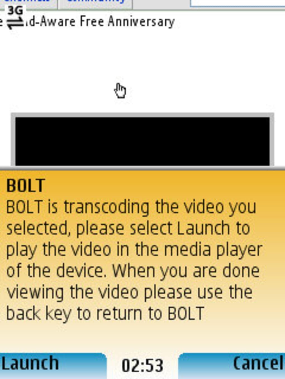 o navegador bolt para celular
