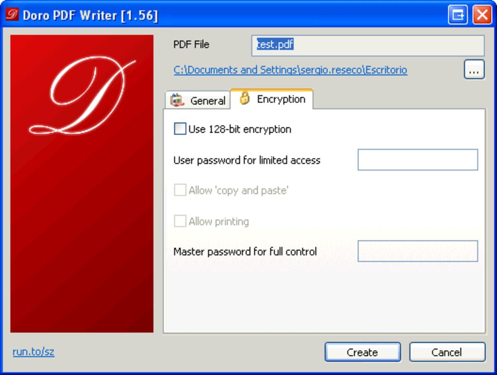 Doro pdf writer free download.