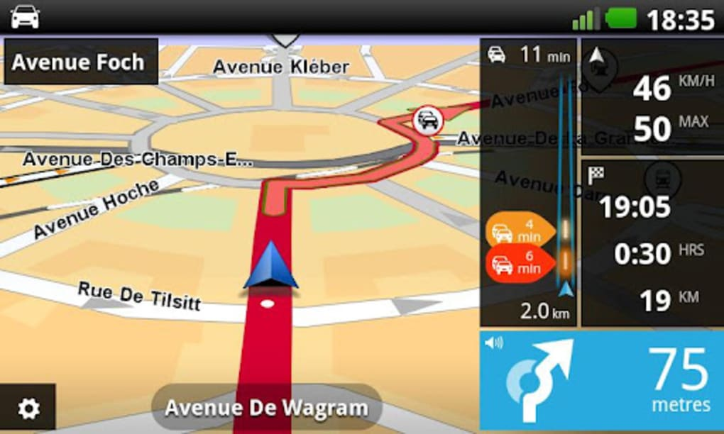 Android rencontres GPS App