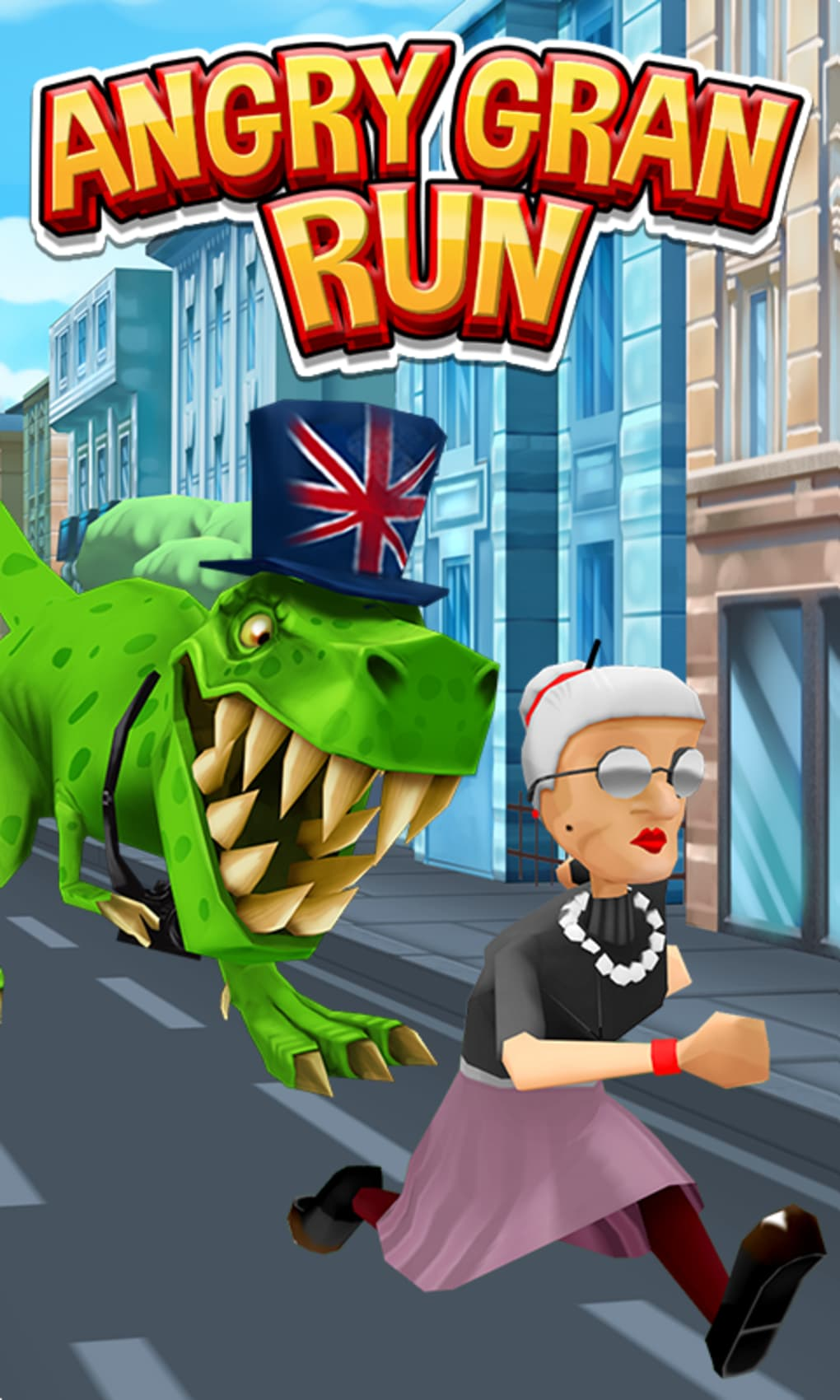Angry granny run game free download.