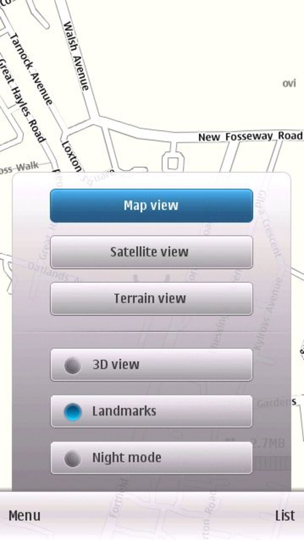 Nokia 5233 google map application free download.