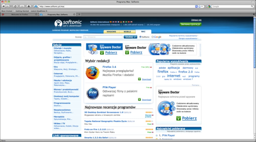 Portable Firefox na Mac - Download