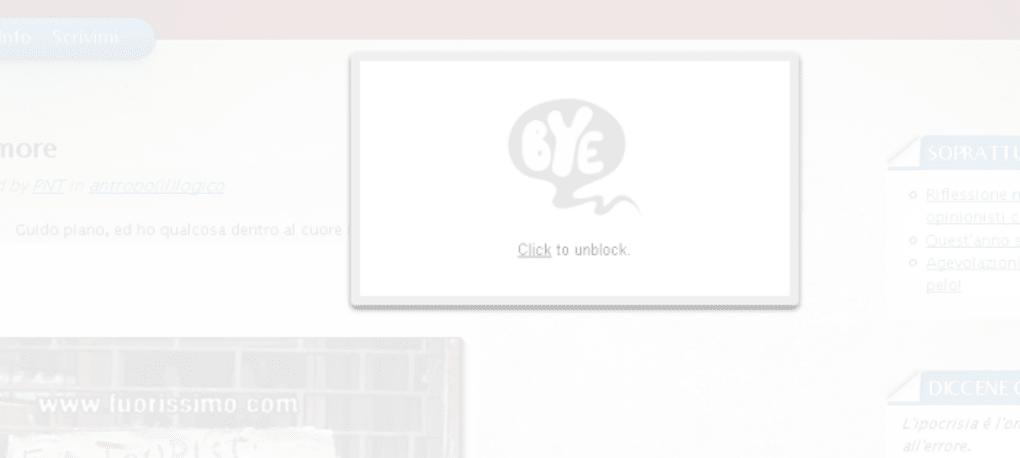 Ex blocker download - Finestre popup bloccate ...