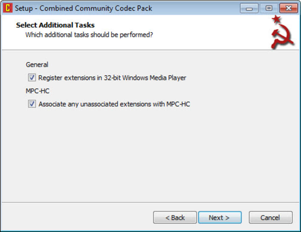 Combined Community Codec Pack - Download