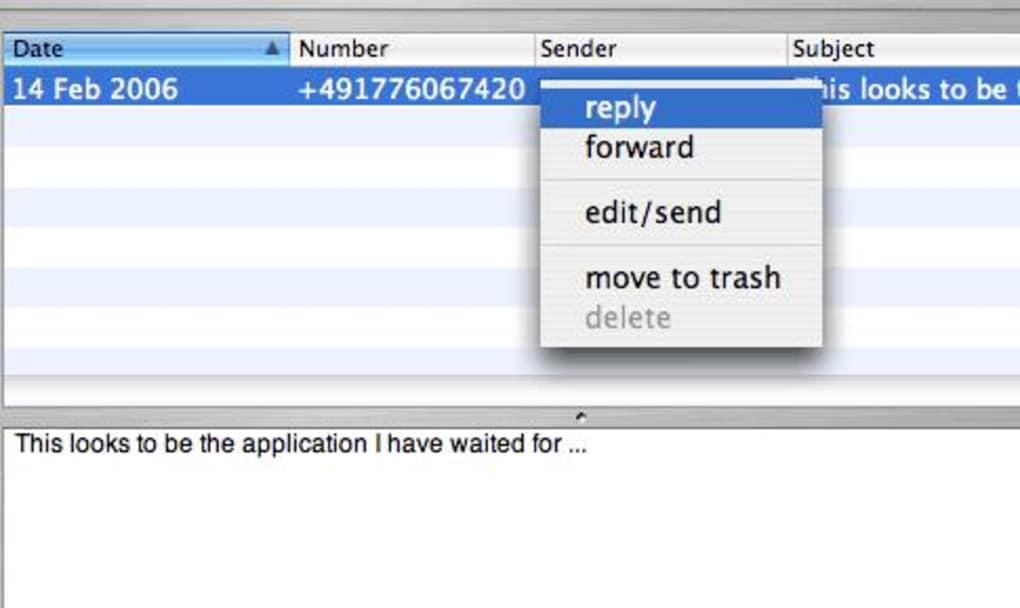 Message2net