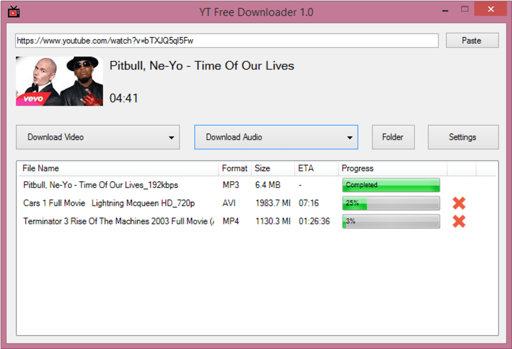 YT Free Downloader - Download