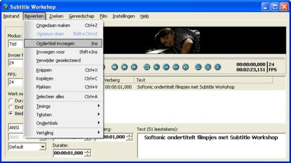 Subtitle Workshop - Download