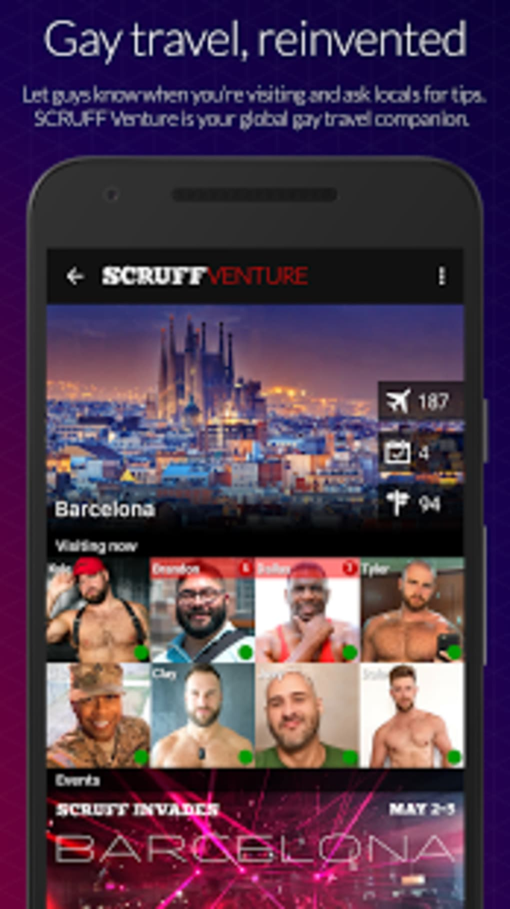 Gay dating app barcelona