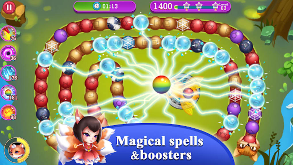 Jungle Marble Blast Friends for Android - Download