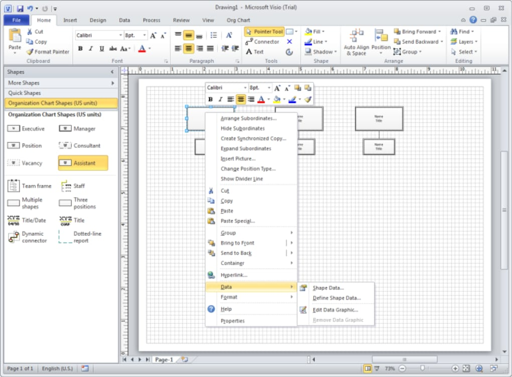 visio 2010 free trial download