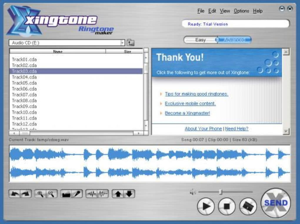 Xilisoft iphone ringtone maker 3. 0. 2 (free) download latest.