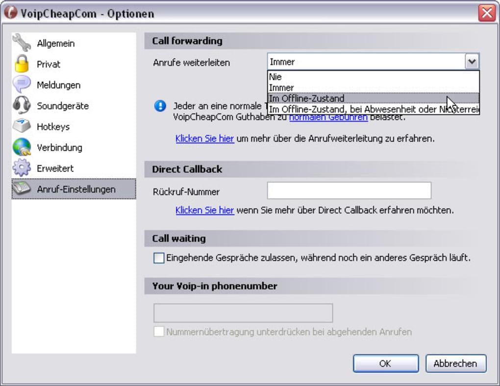 voipcheap pour windows 7