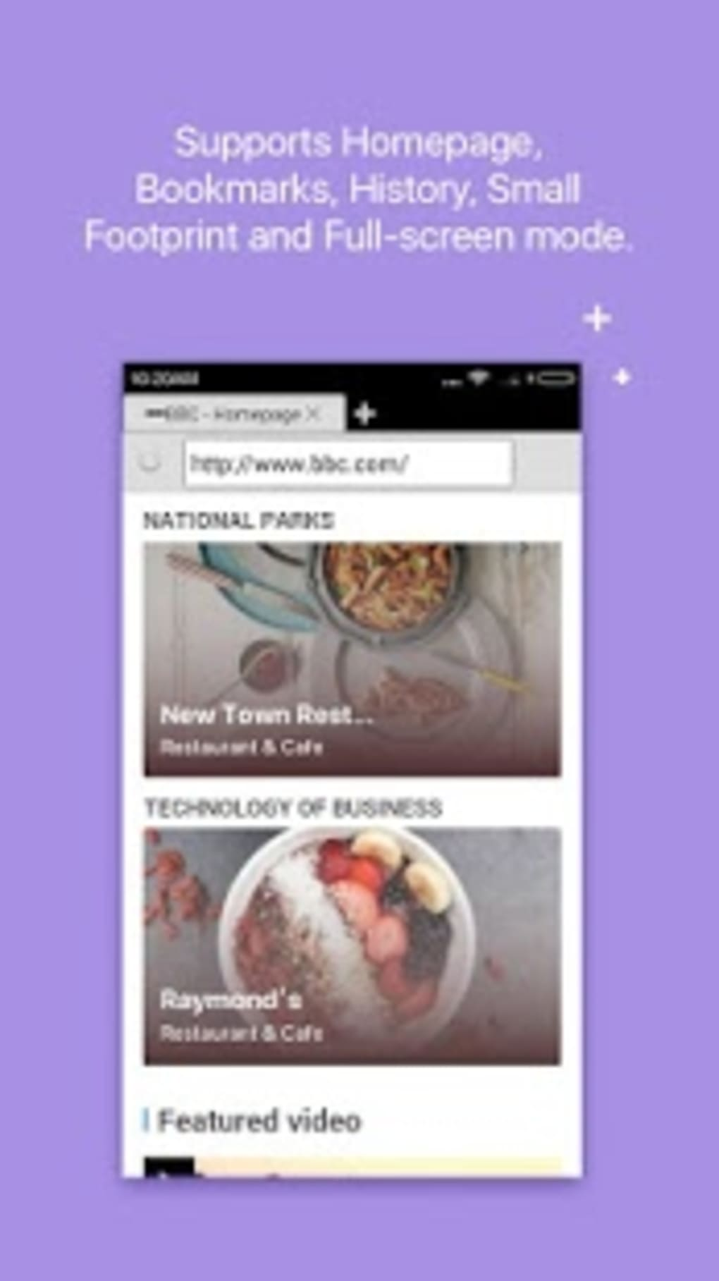 Web Browser for Android (Android) - Download