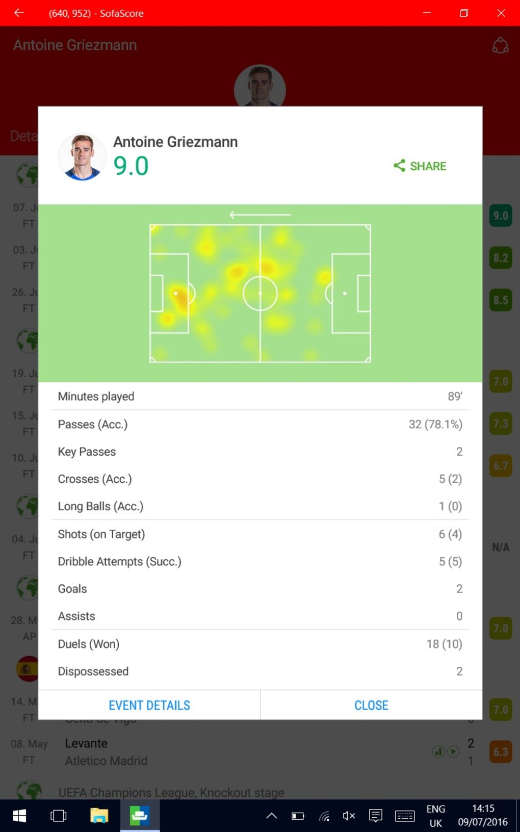 Sofascore Livescore Live Scores And Results Download