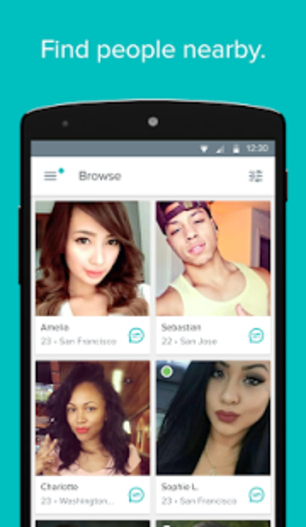Populaire dating app voor Android