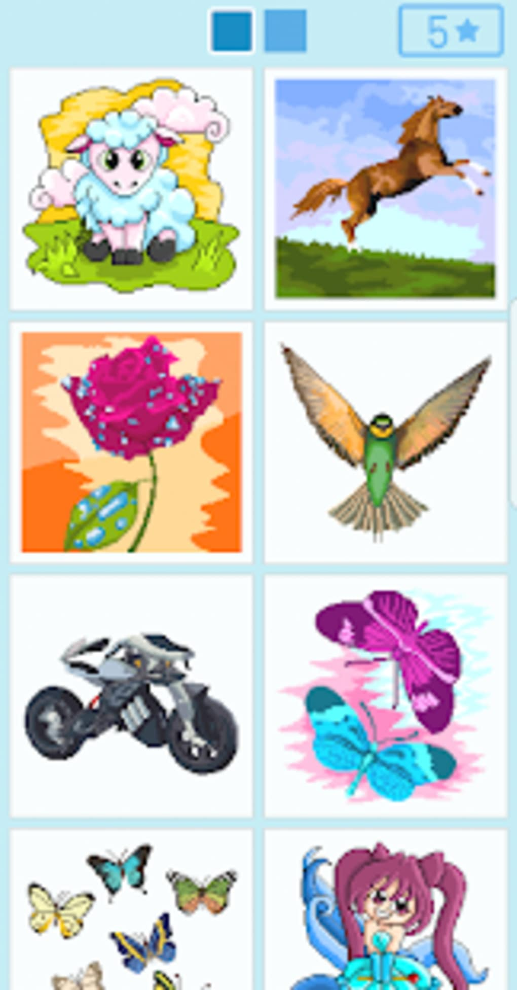 Pixyfy color by number coloring book for Android - Download
