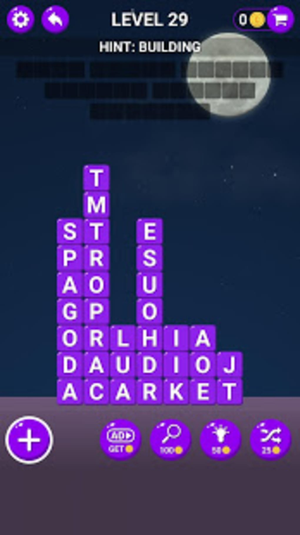 Word Stacks - IQ Word Brain Games Free for Adults for