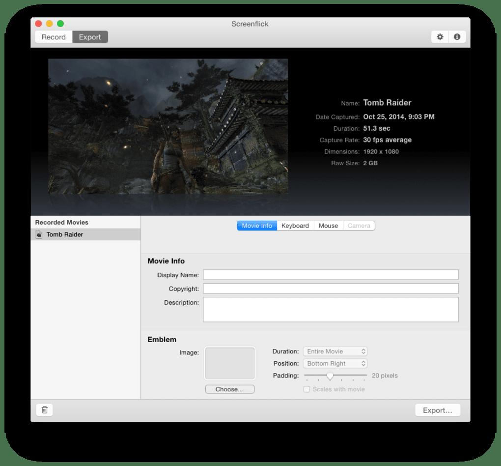 Screenflick for Mac - Download