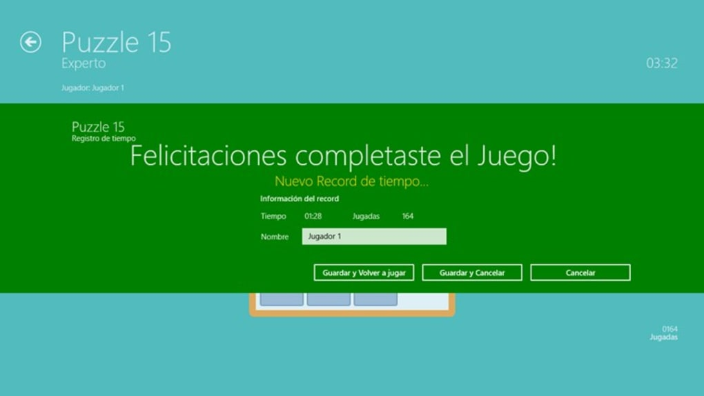 Puzzle 15 For Windows 10 Windows Descargar