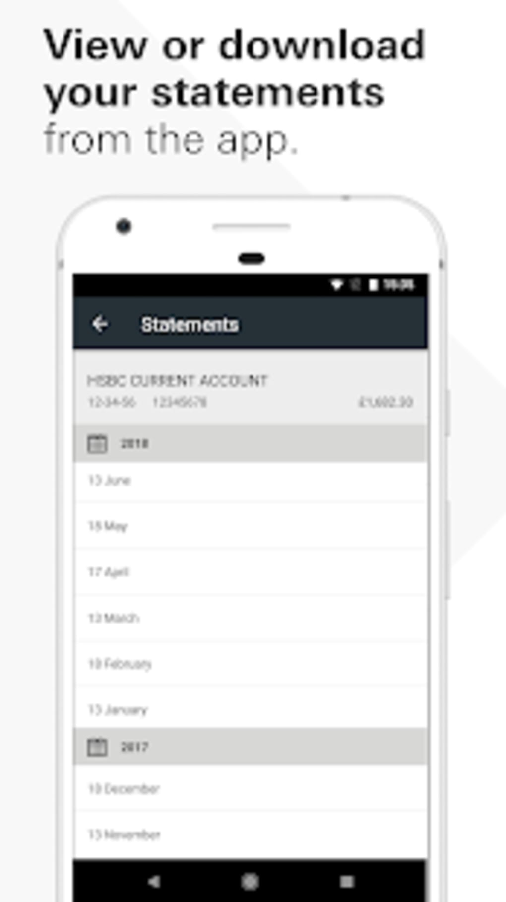 HSBC UK Mobile Banking for Android - Download
