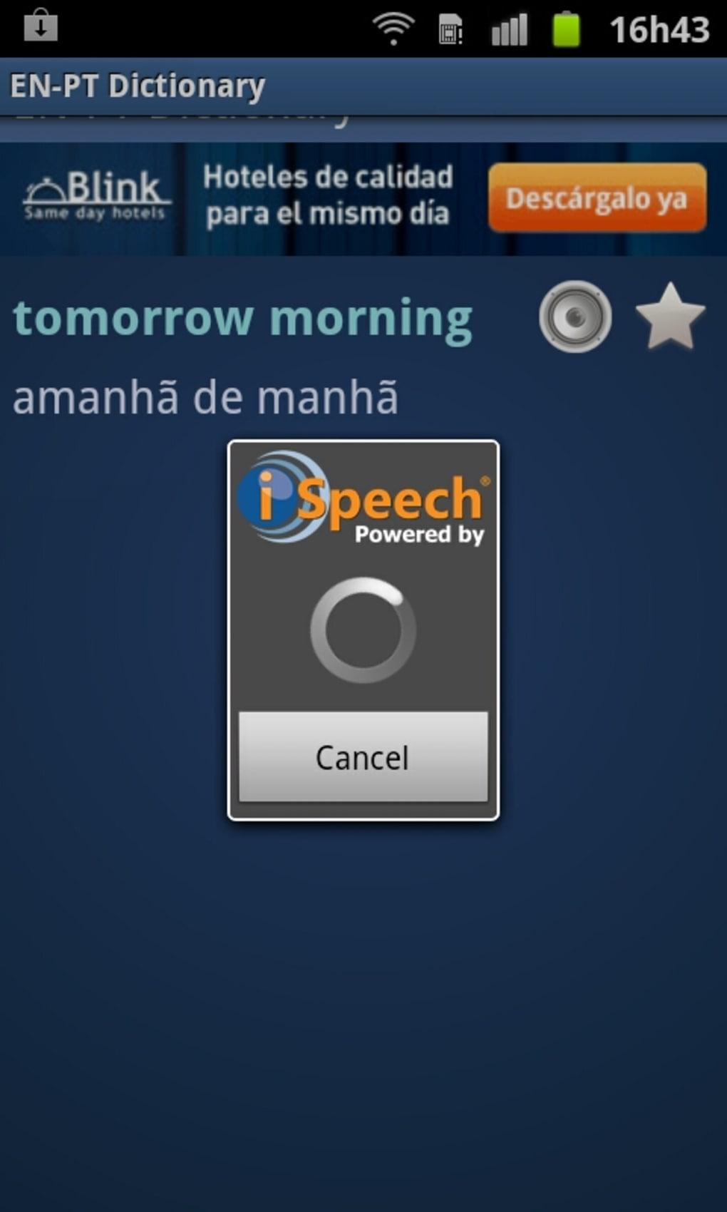 Dicionário Inglês Português for Android