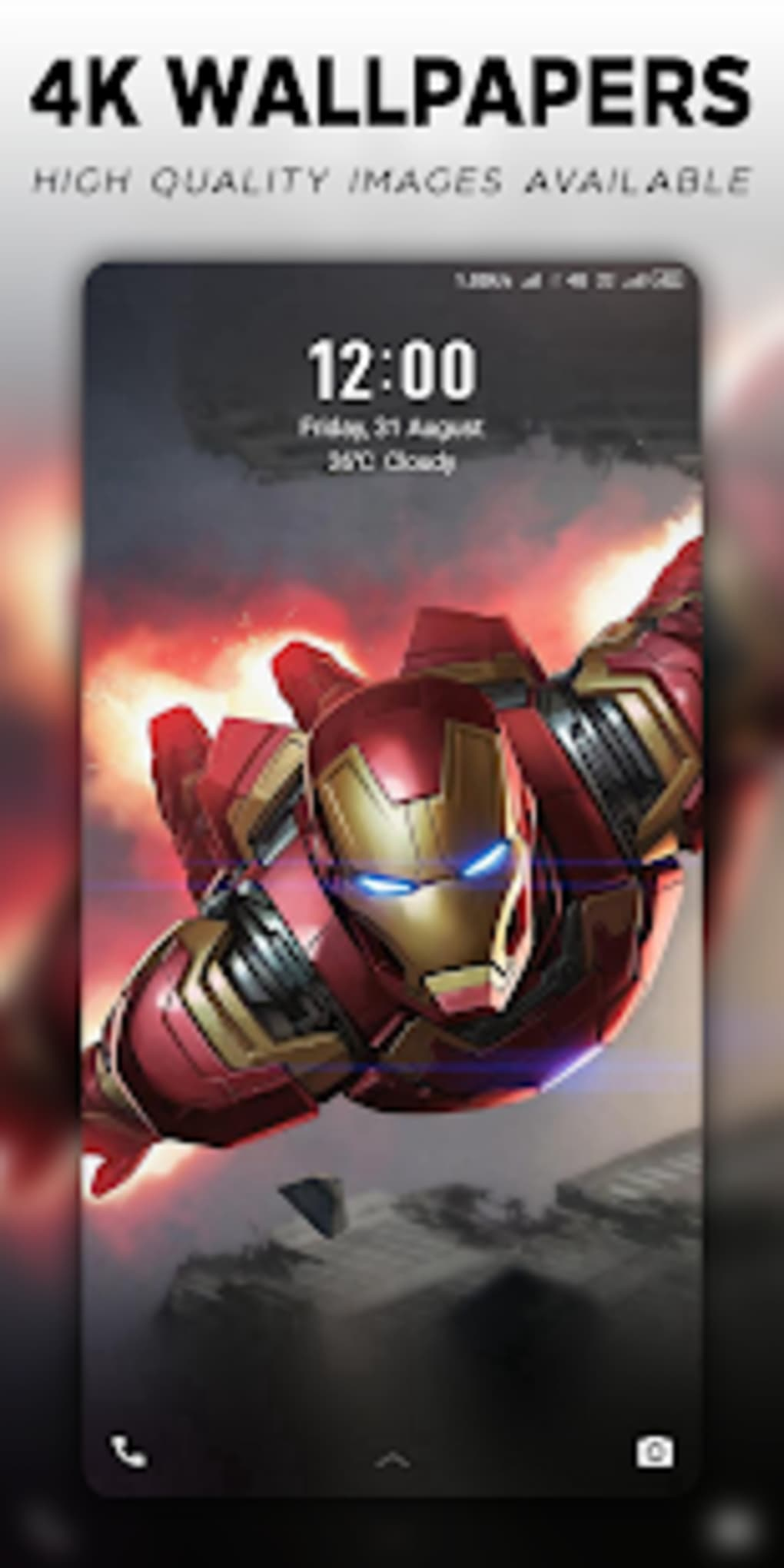 4K Superheroes Wallpapers Live Wallpaper Changer