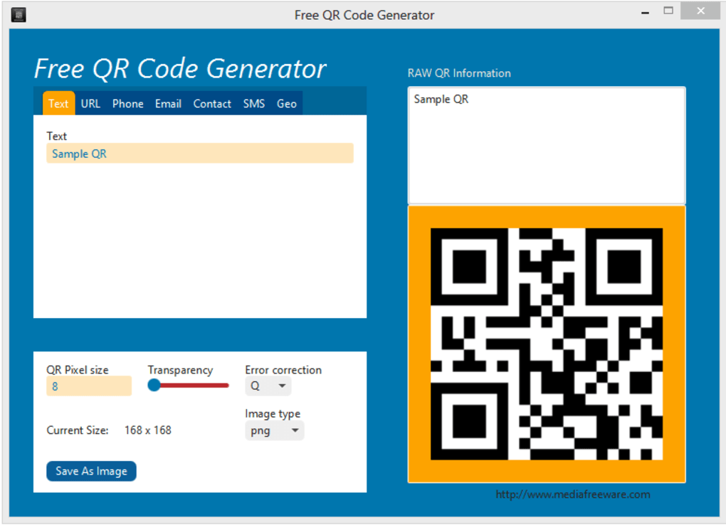 Free QR Code Generator - Download