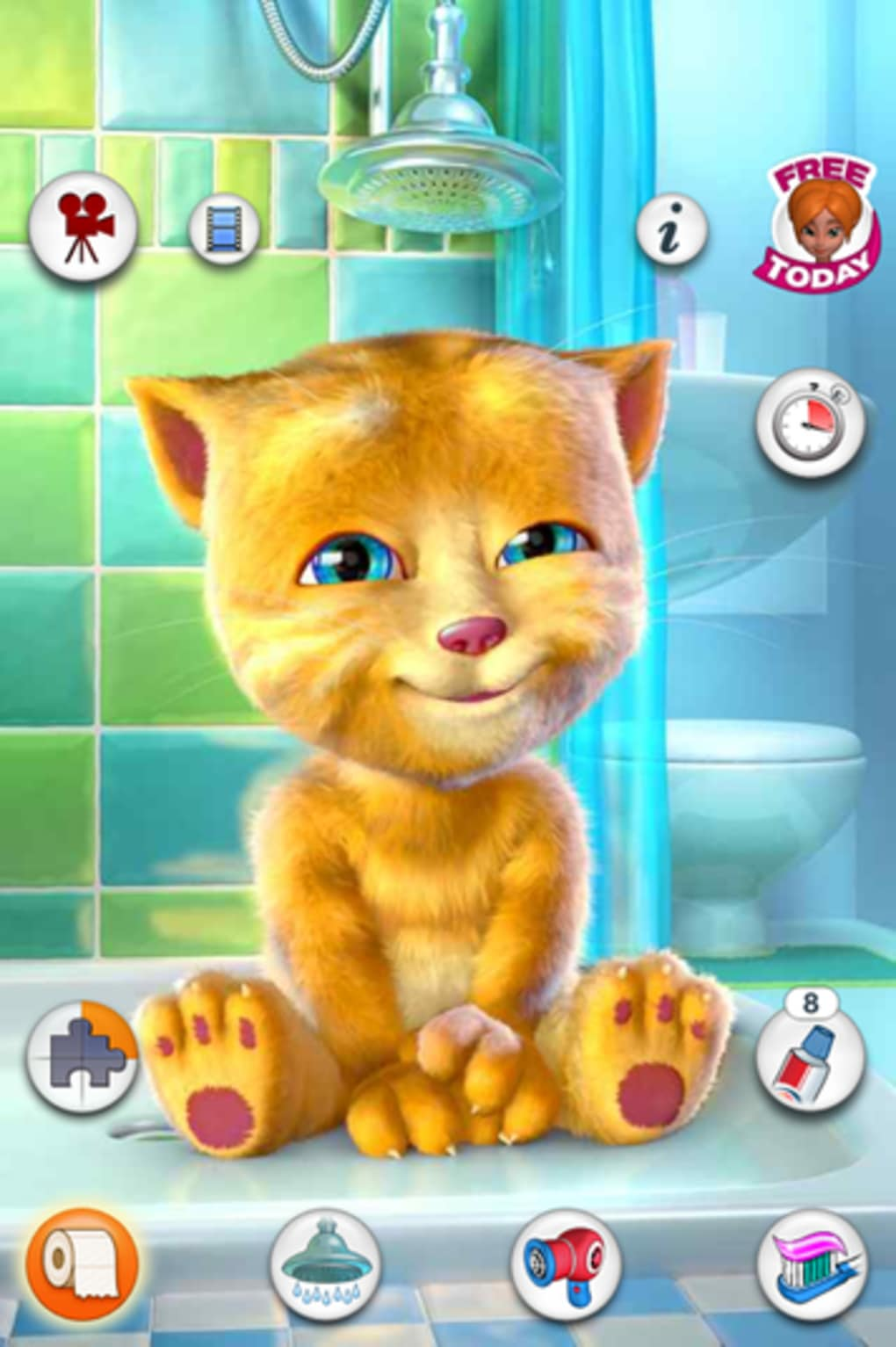Talking ginger para iphone download for App para disenar muebles ipad