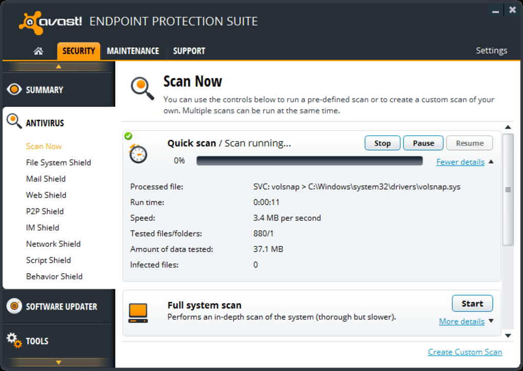 Avast Endpoint Protection Suite Download