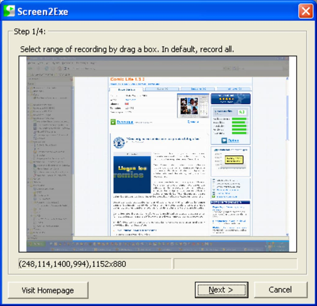 screen2exe portable
