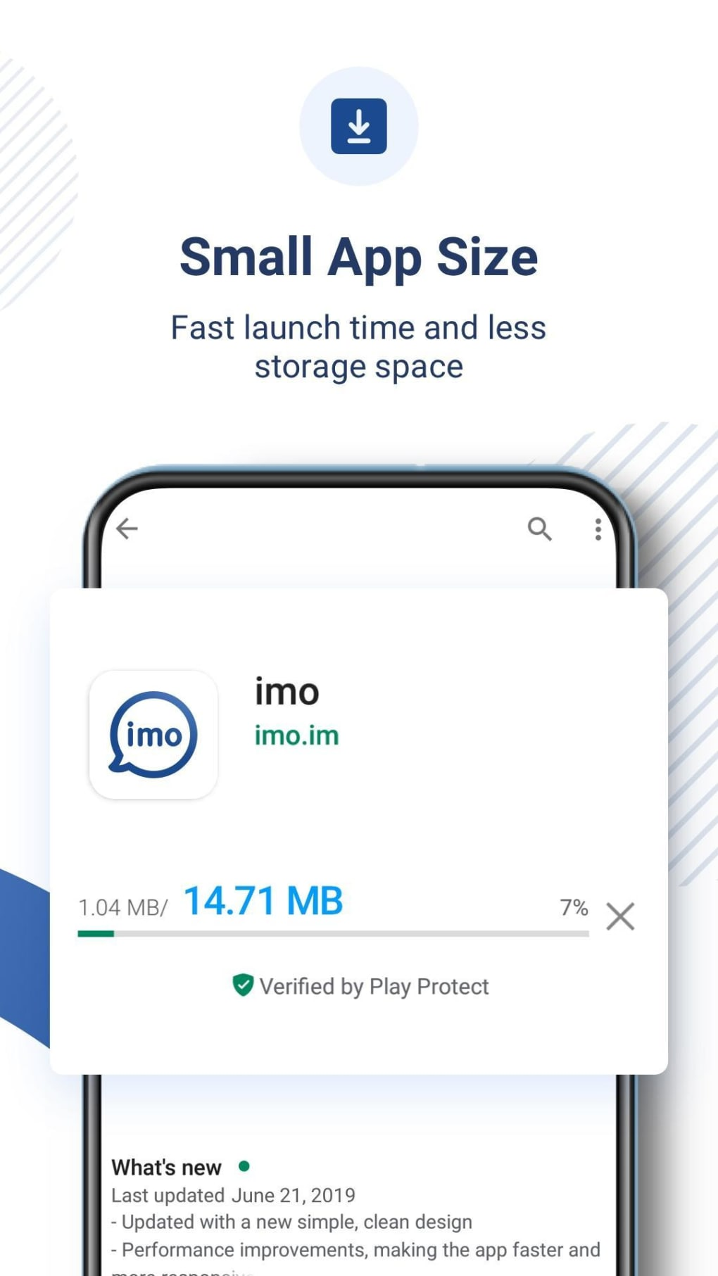 imo free video calls and chat APK untuk Android - Unduh