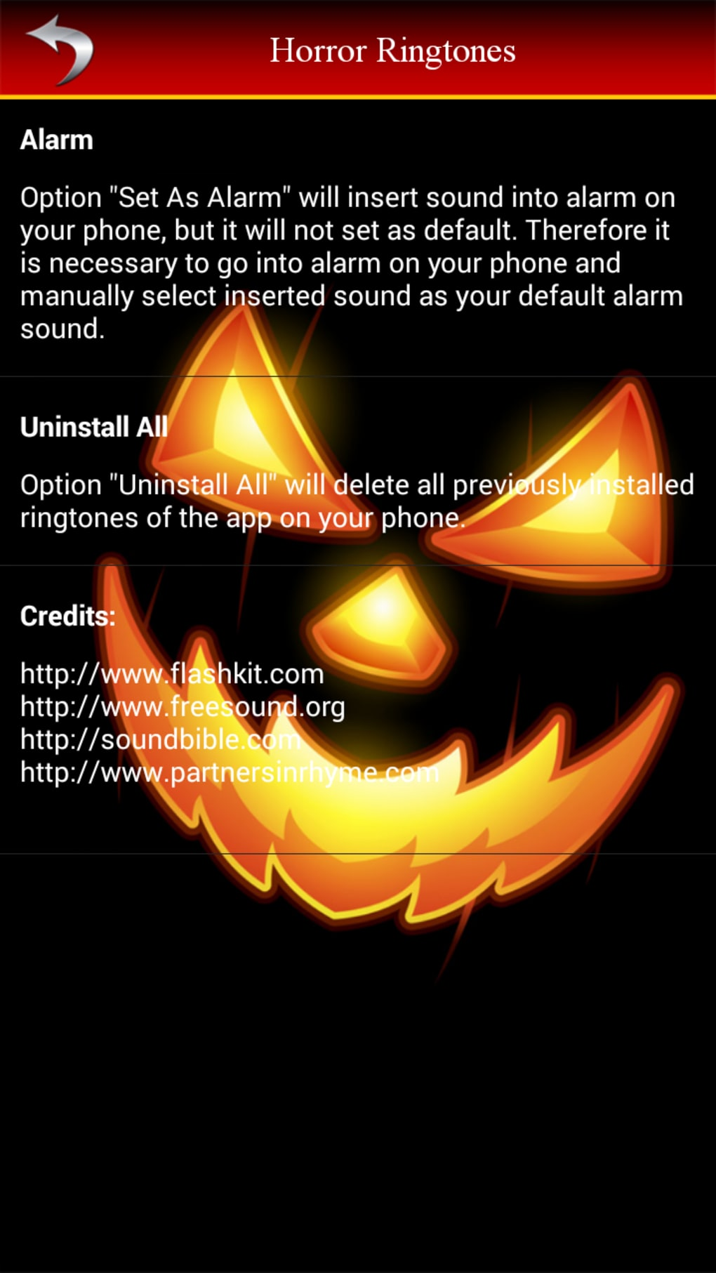 Ghost sounds horror ringtone free download of android version.