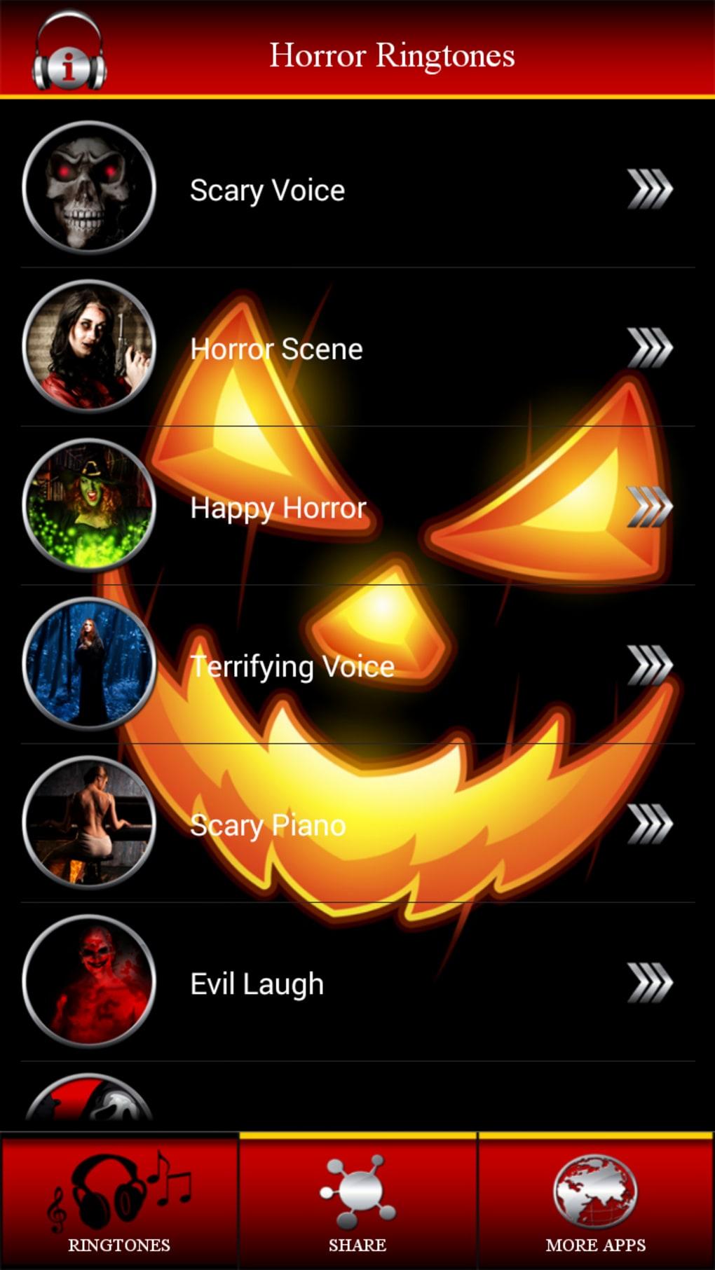 Horror ringtones free download.